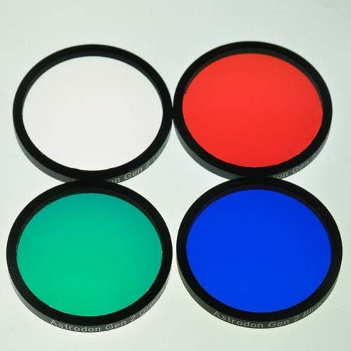 Astrodon LRGB Set Gen 2 E Series 36mm Unmounted