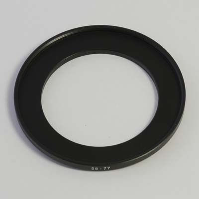 77 to 58mm Stepping Ring