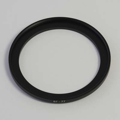 77 to 67mm Stepping Ring