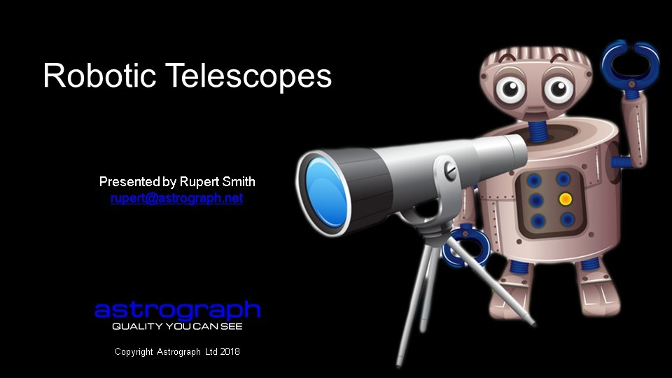 Robotic Telescopes 1