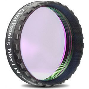 "Baader Planetarium 1.25"" Clear Focusing Filter"
